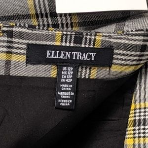 Ellen Tracy Skirts - Ellen Tracy Glen Plaid Skirt NWT 12 Petite